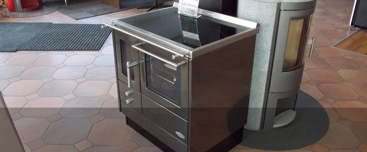 Individuell gefertigte Küchenherde